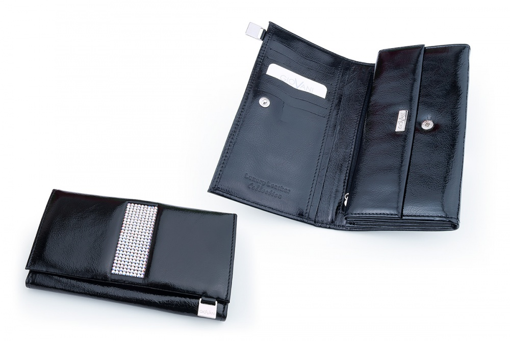 Ladies wallet with Swarovski crystals CV 140