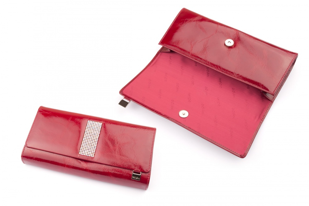 Ladies handbag / cosmetic bag with crystals CV 180
