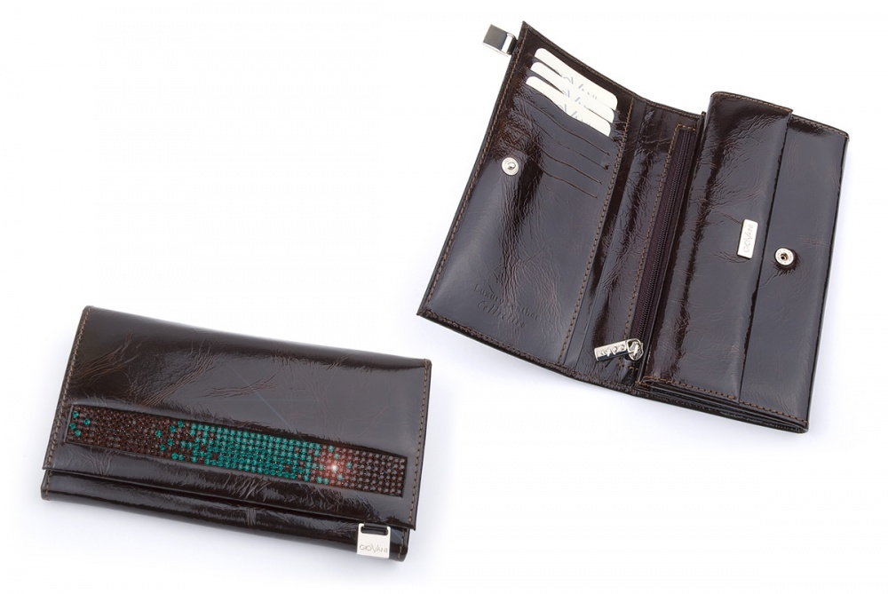 Ladies wallet with Swarovski crystals DV 140